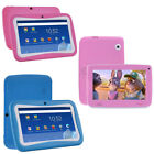 7'' Inch 8GB Quad Core Kids Tablet Android 4.4 Dual Camera HD WiFi Bundle Case