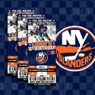 New York Islanders Ticket Style Sports Party Invites $25.0 USD on eBay