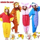 Adult Unisex Hooded Costume Kigurumi Pajamas Cosplay Pyjamas Animal Sleepwear