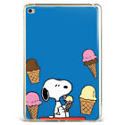 Snoopy Ice Cream Blue Soft Silicone Tpu Case Cover For Samsung Apple iPad SNB11