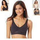Bali Comfort Revolution Stretch Fit Wire free Bra Flexes to Fit Seemless 3484