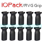 LOT 10 RVG RAIL VERTICAL FRONT GRIP BLK PTS FITS 1913 PICATINNY RAIL US