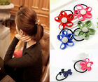 Fashion Candy Colos Zipper Flower Hair Bands Hair Rope hair Flower Accessories