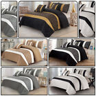 Opulence Faux Silk & Jacquard Dovet Cover Set with 2 Pillow Cases Quilt CoverSet