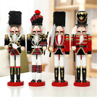 Handmade Home Decoration Soldiers Walnut Christmas Ornaments Wooden Nutcrackers