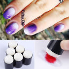 3Pcs Reusable Gradient Blooming Pen Dotting Sponge Brush Nail Art Stamping Tool