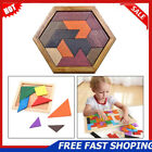 Внешний вид - Wooden IQ Game Jigsaw Intelligent Tangram Teaser Puzzle Baby Kid Educational Toy