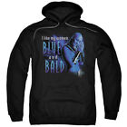 "Farscape ""Blue And Bald"" Hoodie, Crewneck, Long Sleeve"