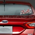 """Personalized Name with Polka Dots Decal. 10"""" long. Choose your Color. Great Gift"""