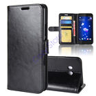 For HTC U11 Slim Flip PU Leather Case Card Stand Magnetic Wallet Phone Cover