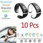 Best 10 Pcs Bluetooth Wrist Adept Bracelet Be prepared Phone For IOS Android Phone OE