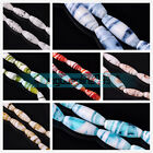 2/10Pcs  32X12mm Big Oval Lampwork Glass Charms Loose Beads DIY Jewelry Findings
