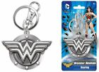 Monogram International DC Wonder Woman Pewter Key Ring- Pick SZ Color.