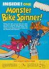 "MONSTER BIKE SPINNER Cereal Box BICYCLE Chocula BOO + = POSTER 7 SIZES 19"" - 36"""