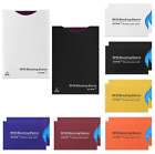RFID Blocking Sleeves Travel Set for Security of Credit/ Debit Cards and Passpor