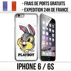 Coque iPhone 6 / 6S - Lapin Panpan Playboy