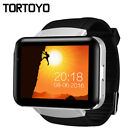 "DM98 Android 4.4 OS Smart Watch Phone 2.2"" Big Screen 3G Clock Camera WIFI GPS"