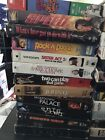 VHS LOT Wide Range of Movies - 38 titles available - PICK 7 for $12