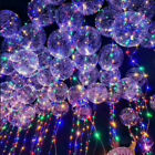 "18"" LED String Light Up Clear Creative Balloon Christmas Wedding Birthday Party"