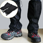 15.7'' Waterproof Outdoor Climbing  Snow Ski Shoe Leg Cover Boot Legging Gaite<<
