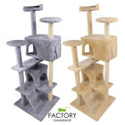 "Внешний вид - 52"" Cat Tree Tower Condo Furniture Scratch Post Pet Kitty Play House Bed"