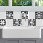Edwardian Scroll Tile Decals image