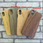 Natural Real Wood Wooden Cover Case for i Phone X Edition (4 choices)
