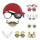 Funny Photo Prop Joke Novelty Glasses Fancy Dress Party Favor Accessories