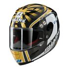 Shark Race-R Pro Carbon Zarco Replica Gold White Motorcycle Helmet