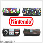 Nintendo GamePad logo Pen Pencil Case Zipper Stationery Quality Make Up Bag Gift