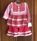 Millie Jay Pink Corduroy 2 piece outfit sizes 12mos,18mos,24mos,4,5,6,6X,7