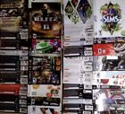 Xbox 360 case INSERT ARTWORK ONLY - choose booklet from list - no game