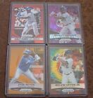 2014-15 Prizm Mojo Refractors (LOT 4):Red, Purple,Orange,& Tye-Dye Rainbow(LOOK)