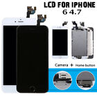 For iPhone 6 4.7'' Touch Screen Replacement Complete LCD Digitizer Button Camera