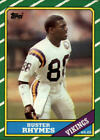1986 Topps Football #281 - #396 Choose Your Cards