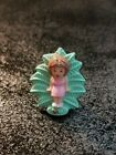 Vintage 1991 Polly Pocket Polly's Earring Case - Lulu Green Leaf Earring Only