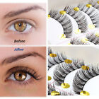 NEW Style Double Magnetic False Eyelashes Natural Eye Lashes Extension Handmade