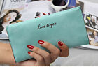 New Fashion Women Lady Leather Clutch Wallet Long Card Holder Case Purse Handbag