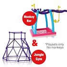 ????MONKEY BAR PLAYSET, SWING & JUNGLE GYM FOR FINGER MONKEY PLAYSET TOY