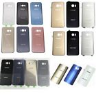 OEM Housing Rear Back Door Battery Cover Glass For Samsung Galaxy S6 S7 S8 note5