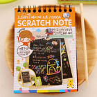 Creative Notebook Black Cardboard Creative DIY Draw Kids Notebook School Supply
