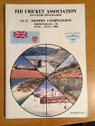 1986 Fiji Cricket association ICC Trophy programme signed by all 18 players vgc