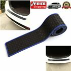 Blue Car Rear Bumper Sill/Protector Plate Cover Guard Pad Moulding Trim OW