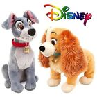 OFFICIAL DISNEY LADY or TRAMP SOFT PLUSH TOY  Lady & The Tramp