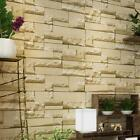 3D Wall Stickers Non woven Fabric Retro Brick Wallpaper for Kitchen Living Room