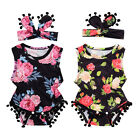 baby clothing bouquet - US Newborn Infant Baby Girl Romper Jumpsuit Bodysuit Headband Clothes Outfit Set