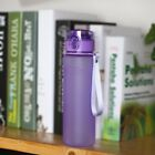 Frosted Hand Feeling Large Capacity Sport Water Bottle Portable Drinking ZN