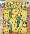 3D Nice Peacocks Bed Pillowcases Quilt Duvet Cover Set Single Queen King Size AU