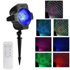 LED Lissome Projector Snow Flurries Falling Snowflakes Night Lamp Xmas Saturnalia Decor