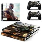 Vanknight Vinyl Decal Skin Sticker Boba Fett for PS4 Playstaion 4 Controllers...